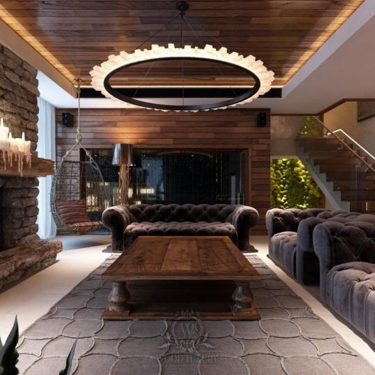 Меблі з дерева для заміського будинку