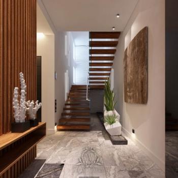 Облаштування сходів у приватному будинку