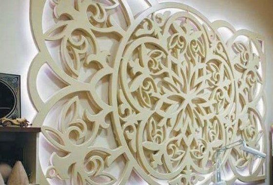 Декоративные фрезерованные перегородки