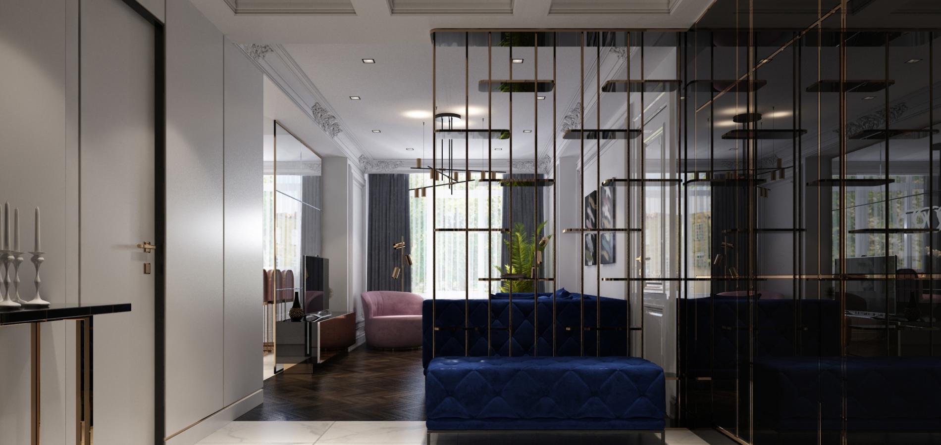 Дизайнерская мебель - квартира Киев