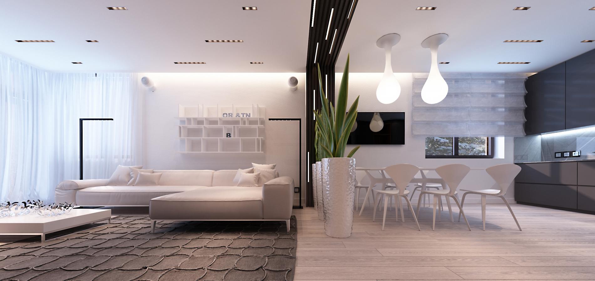 Сучасний інтер'єр будинку