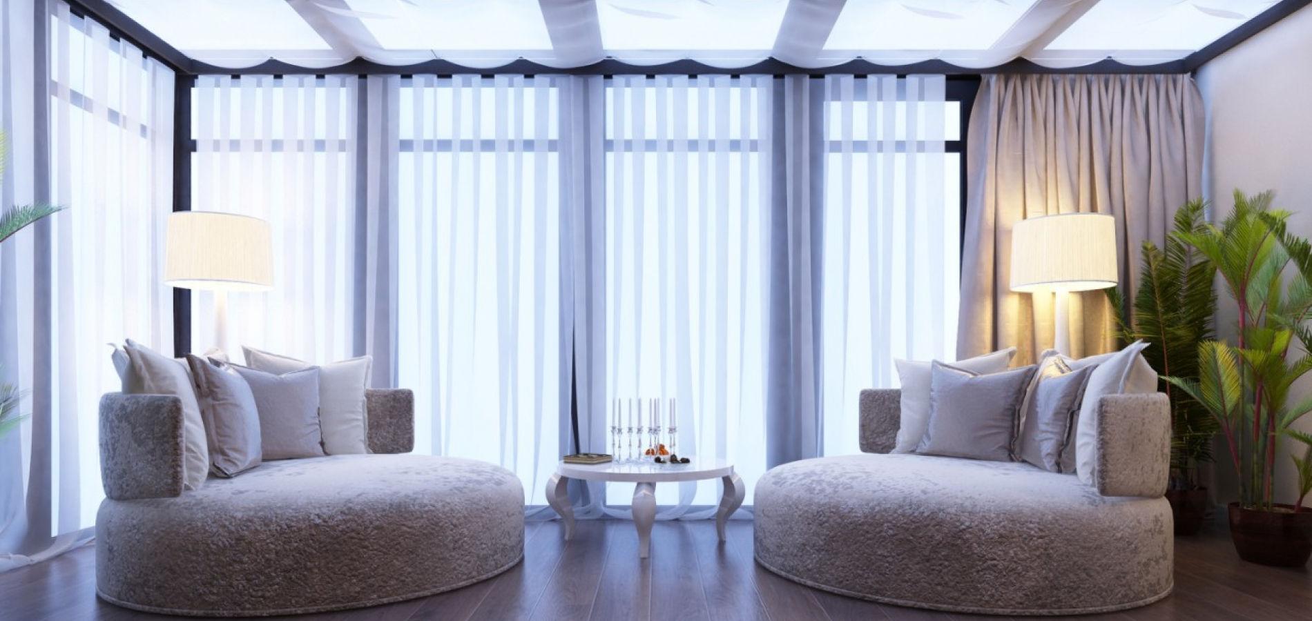 Вітальня з панорамними вікнами GH_410