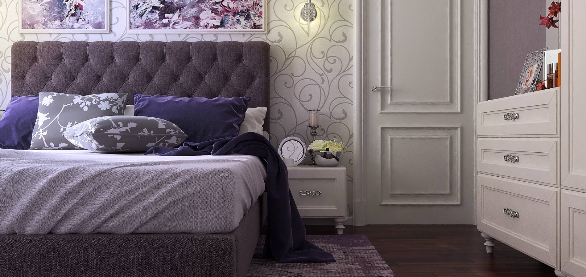 Класична спальня в квартирі SK_103