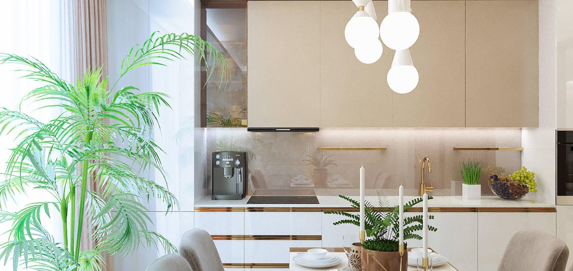 Сучасна кухня в квартирі M_201