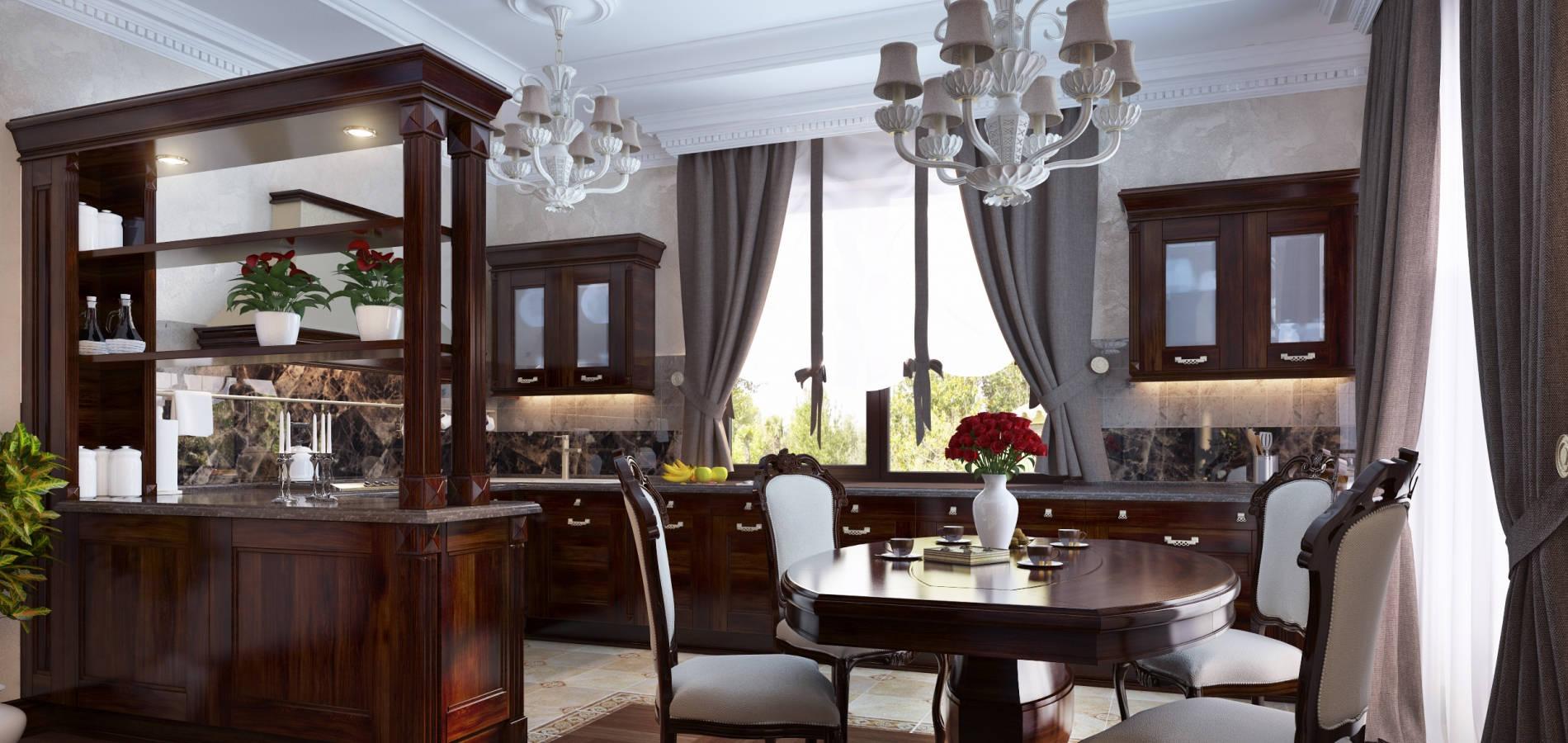 Кухня в класичному стилі K_102