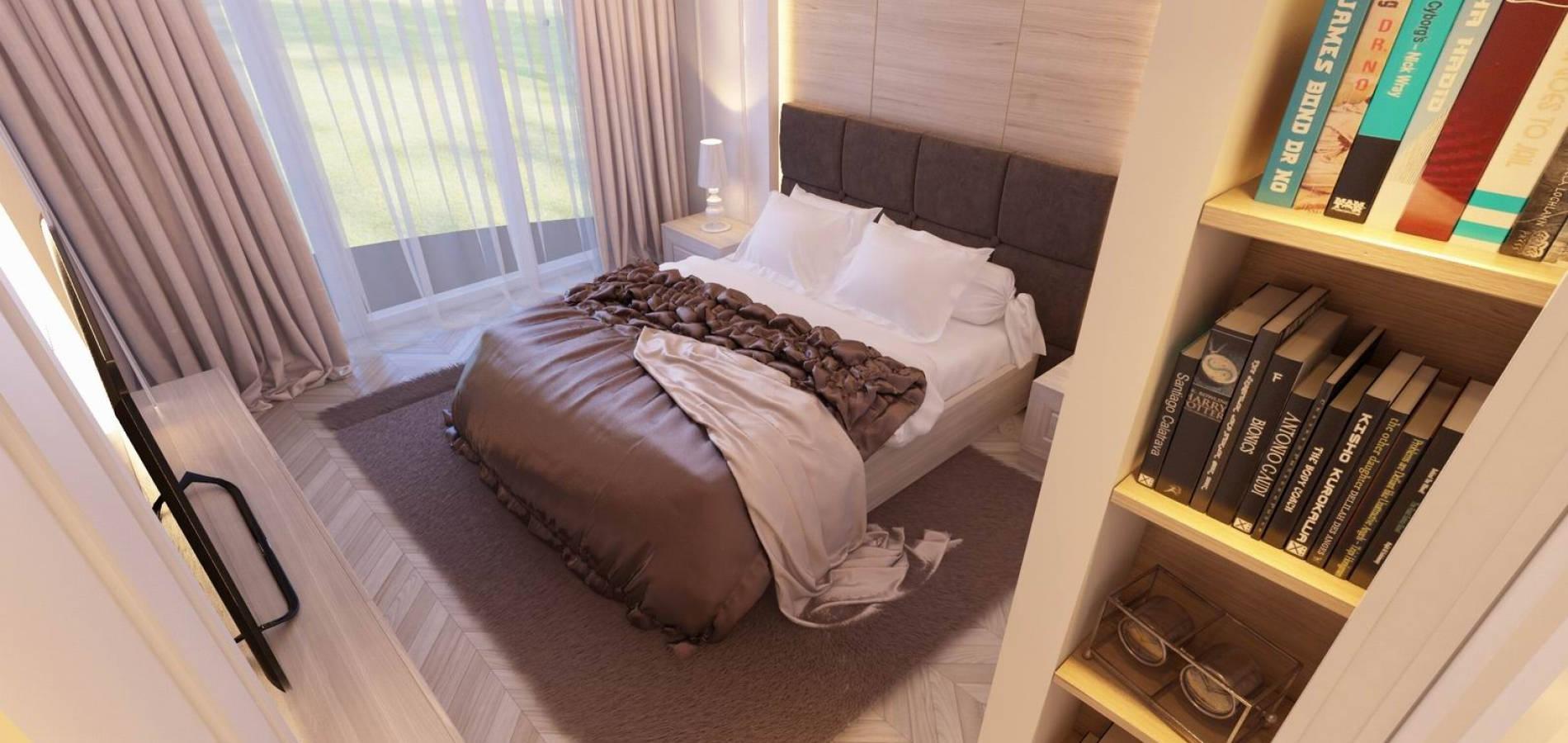 Спальня в світлих тонах SMD_208