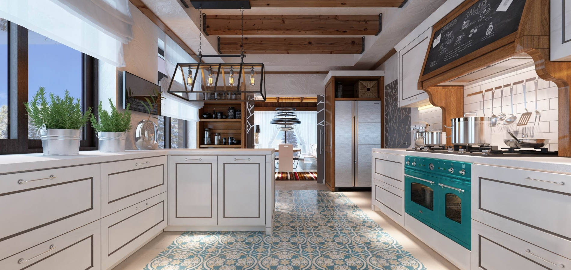 Кухня стилю модерн MD_209