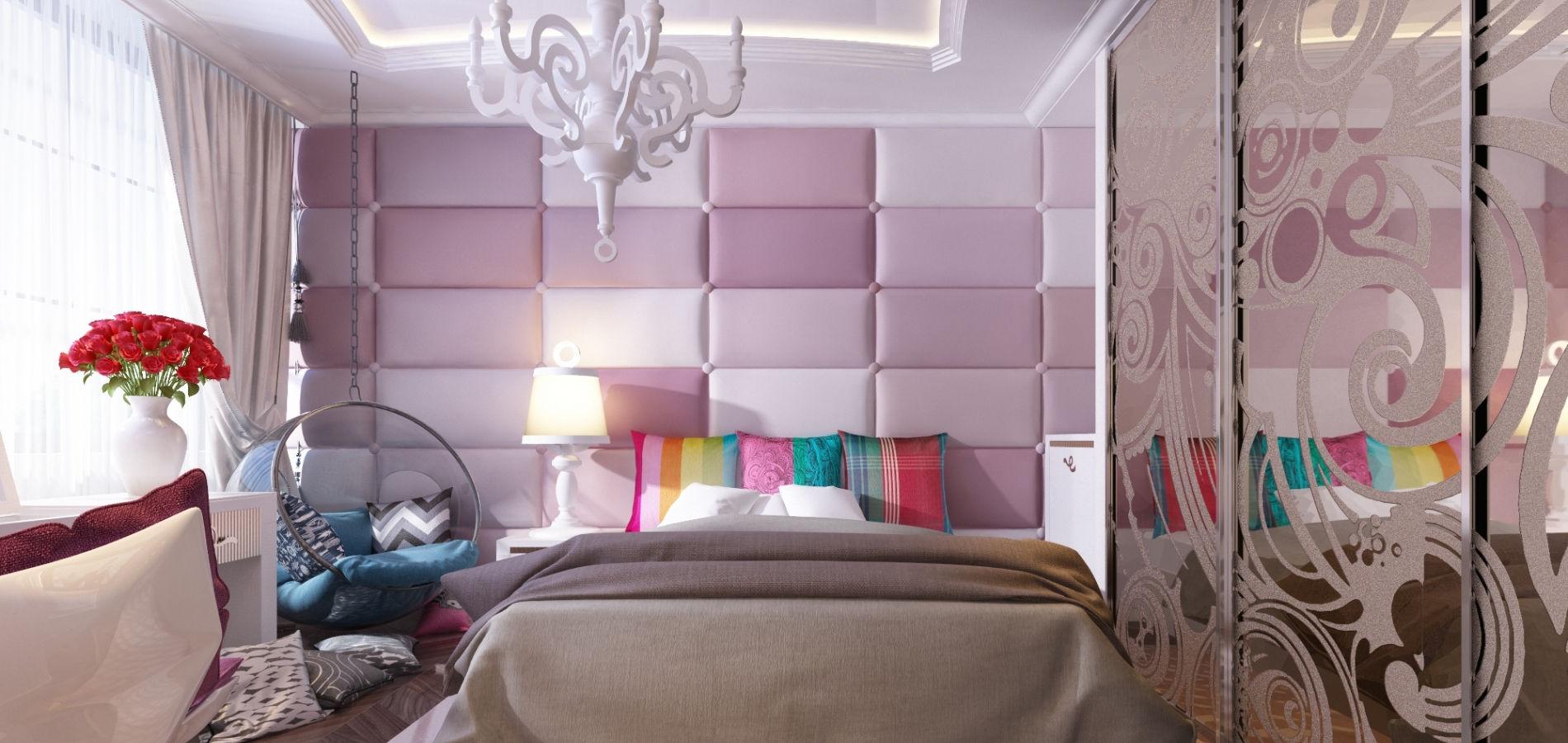 Ніжна дитяча кімната для дівчинки KRK_107
