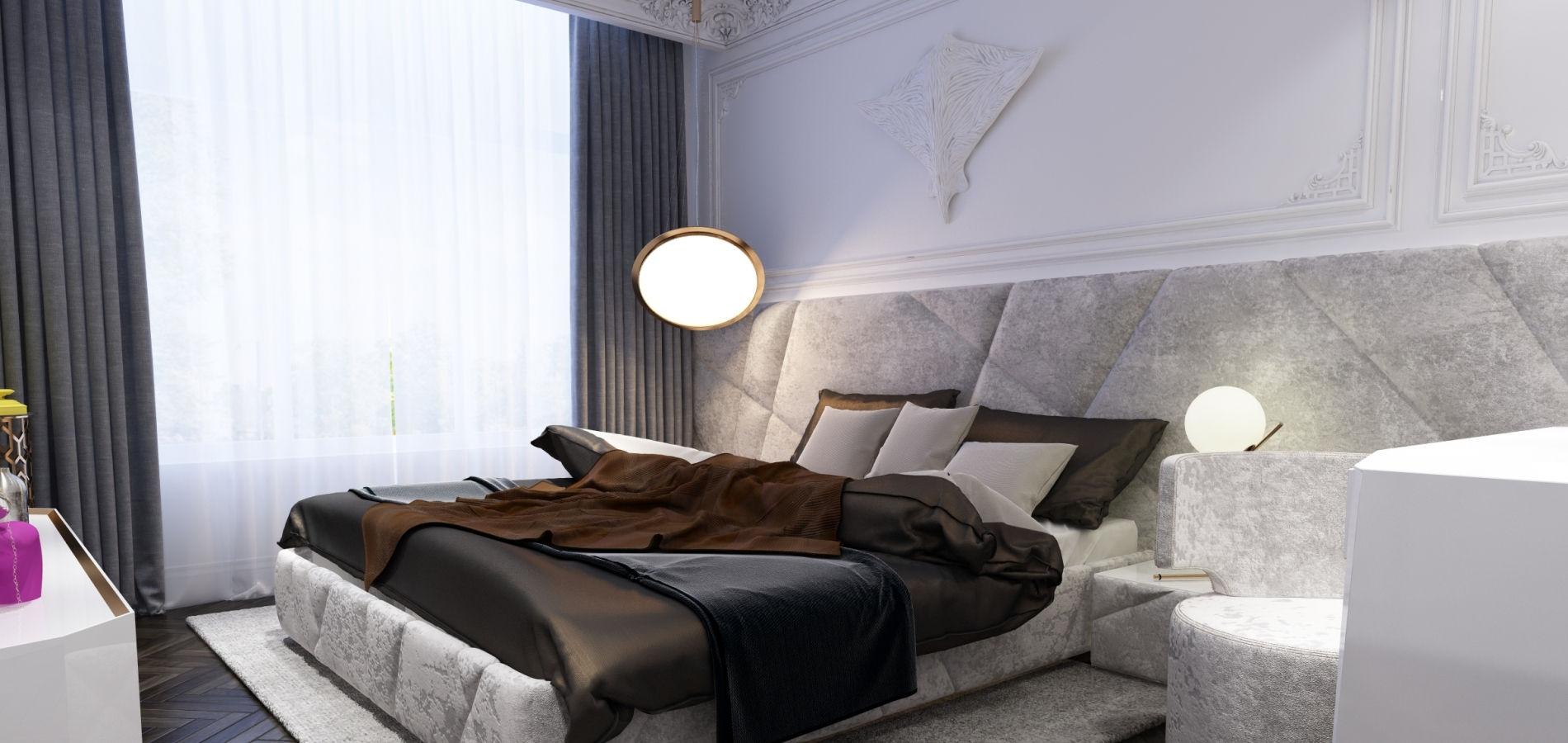 розкішна спальня в квартирі SK_117