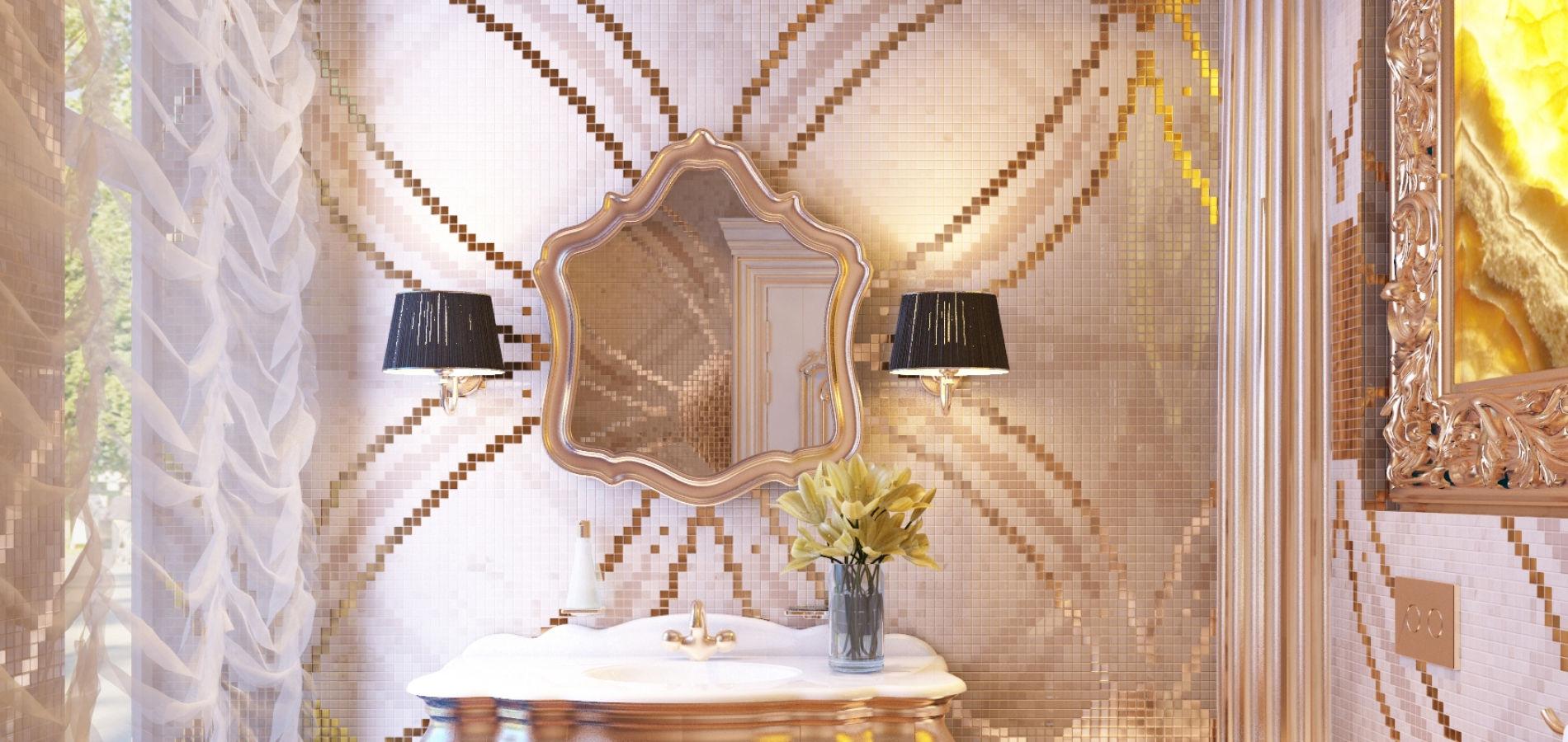 Розкішна ванна кімната для гостей WK_216