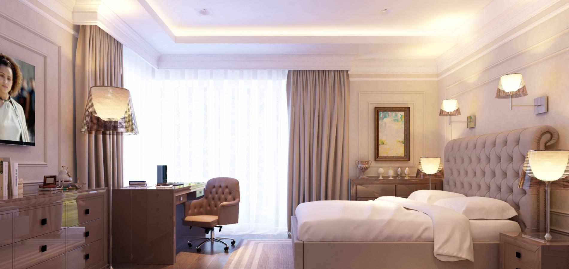 спальня з робочим столом SMD_205