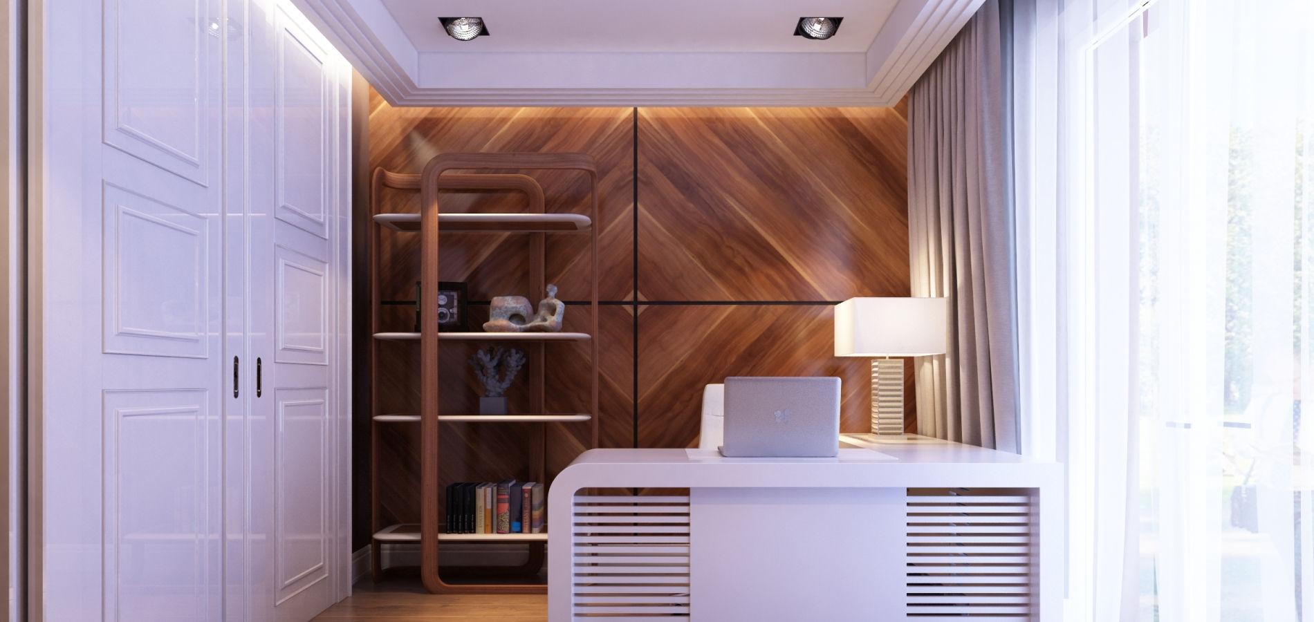 Светлый уютный кабинет OH_305