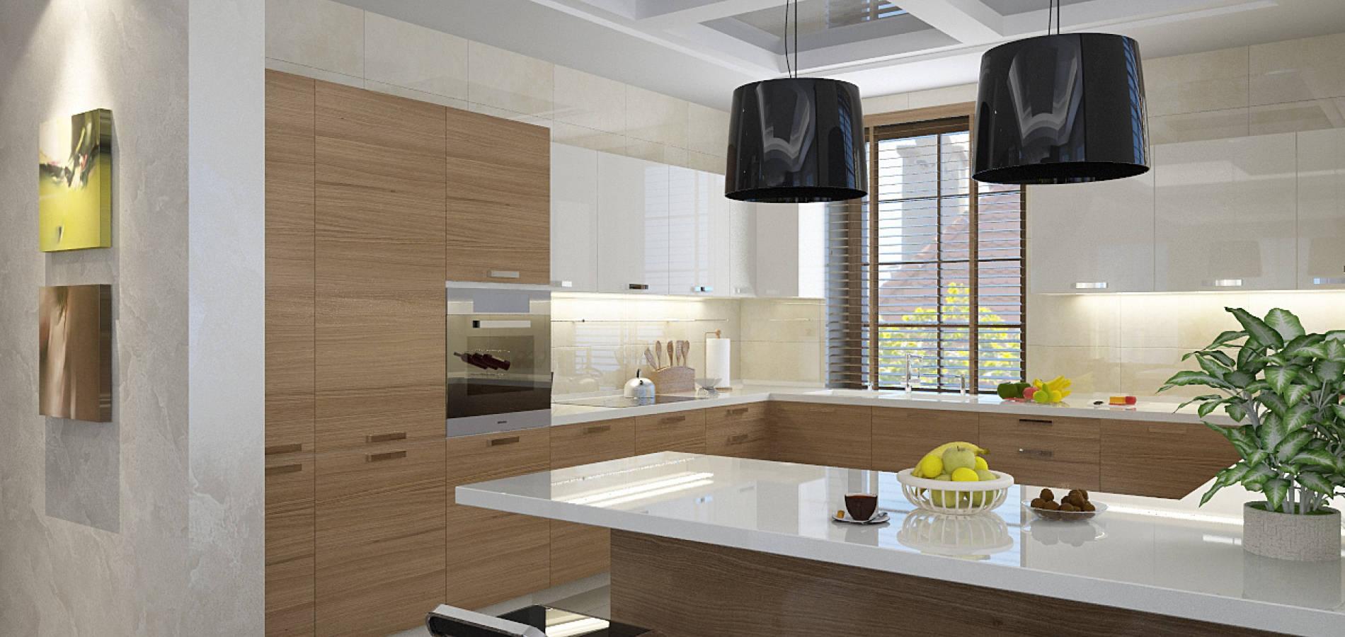 Кухня з ALPI шпоном MD_208