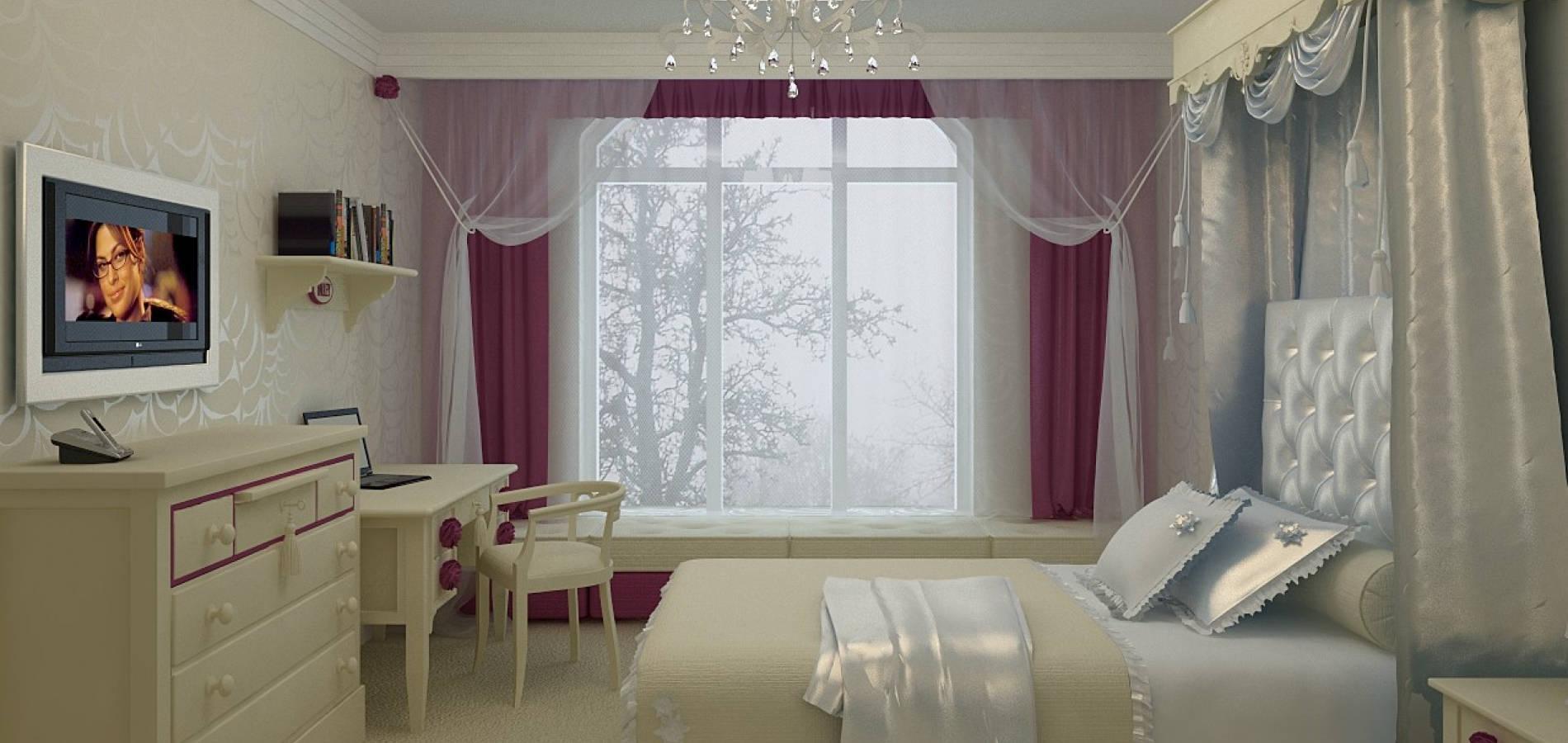 Спальня для дівчинки в класичному стилі SK_104