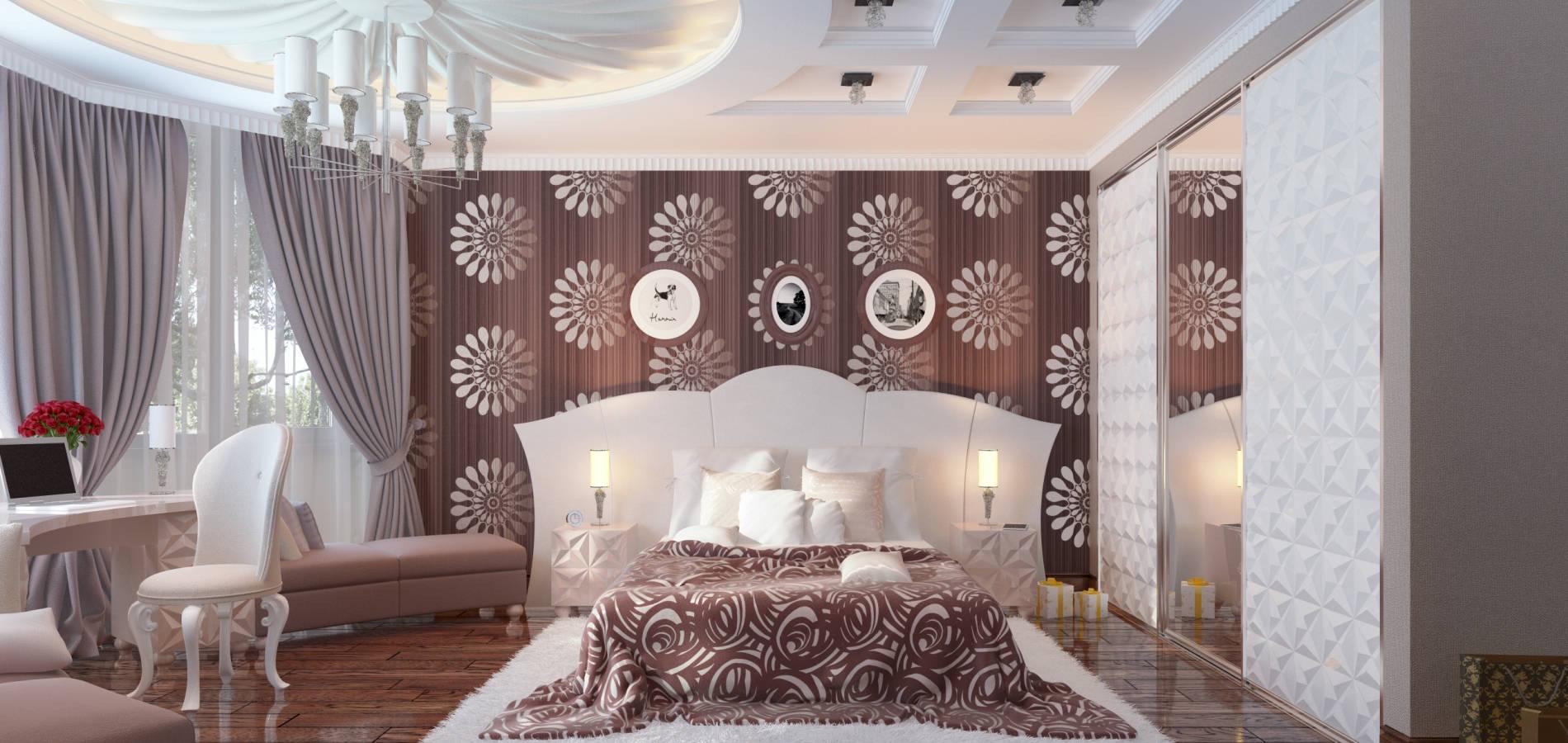 Спальня в модерновому стилі SMD_202