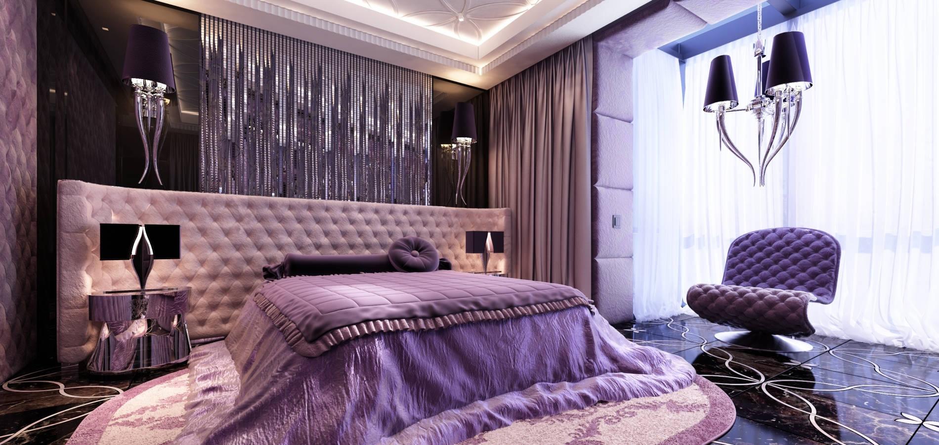 Гламурна спальня для дівчинки SMD_204