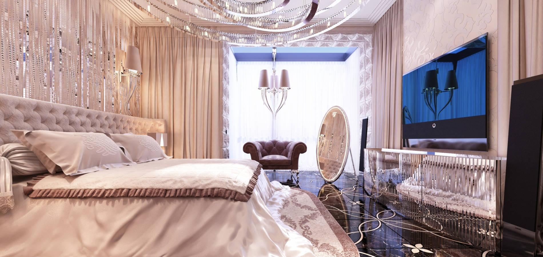 Екстравагантна спальня SMD_201