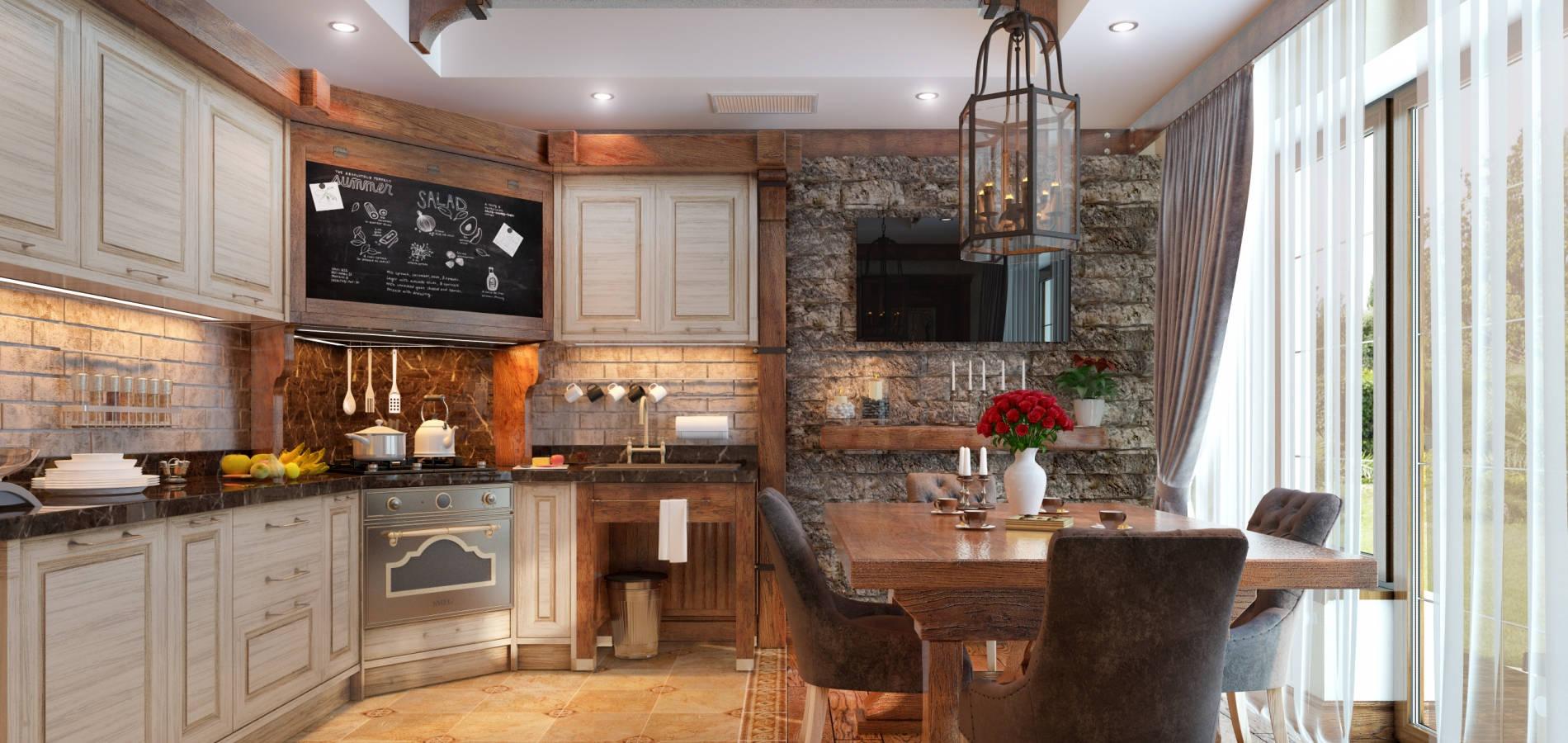 Кухня в класичному стилі K_101