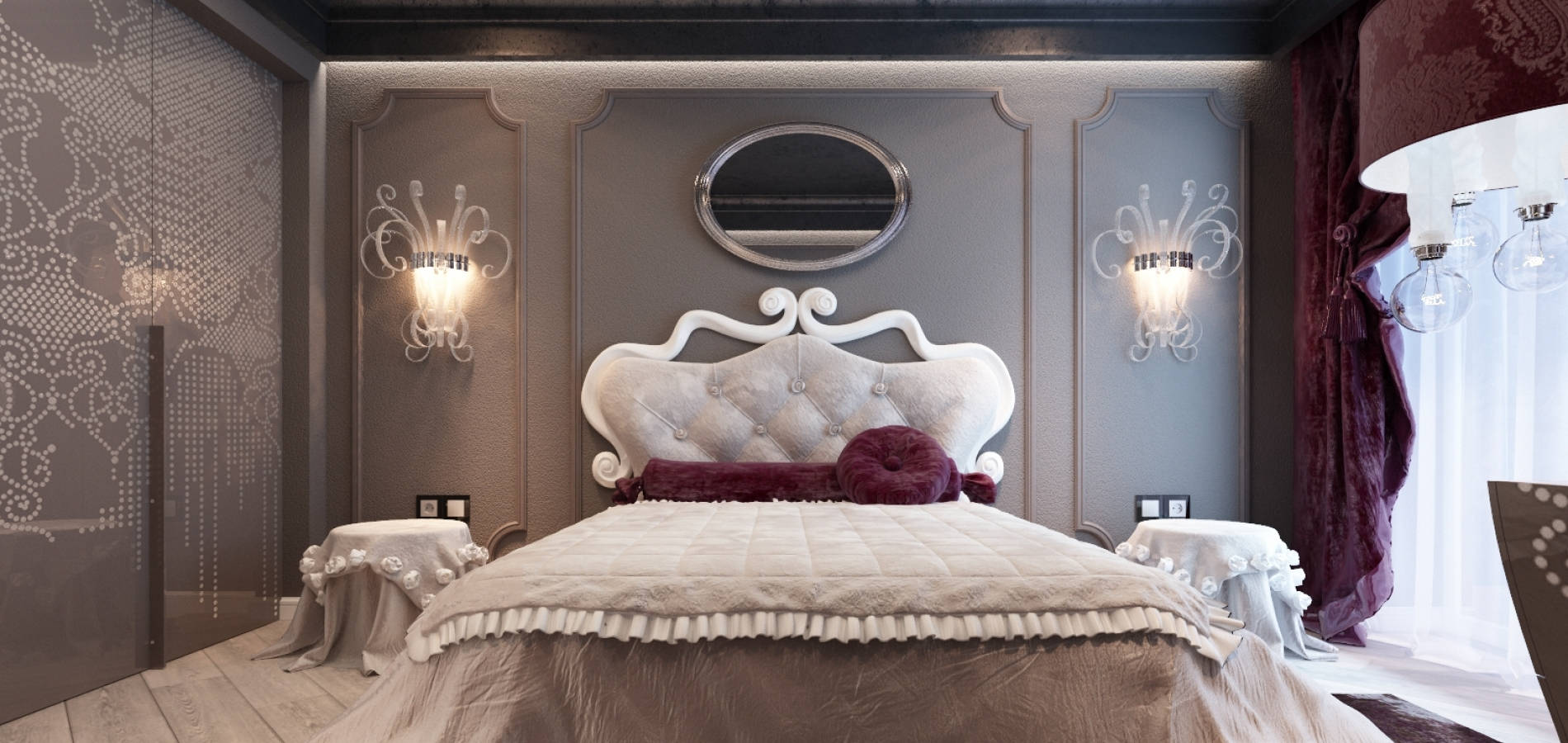 Спальня з різьбленими елементами SK_102