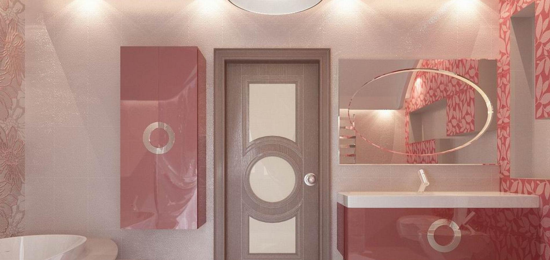 Ванна кімната рожева WK_111