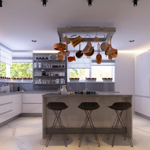 Світла кухня H_407