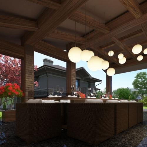 Кухня на літній терасі MD_217