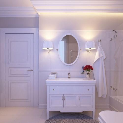 Светлая ванная комната WK_113