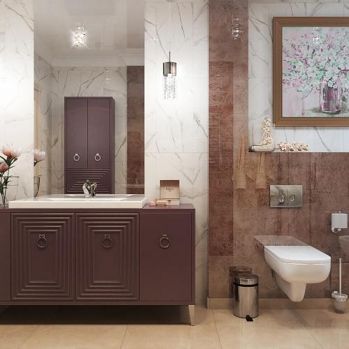 Классическая ванная комната WK_107