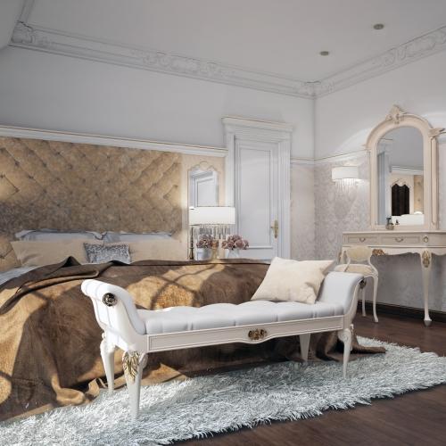 Ексклюзивна спальня з класичніми меблями SK_101