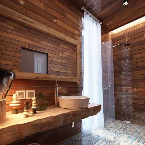 Ванная комната дизайнерская WMD_212