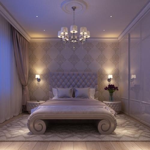 Спальня пурпурна SK_111
