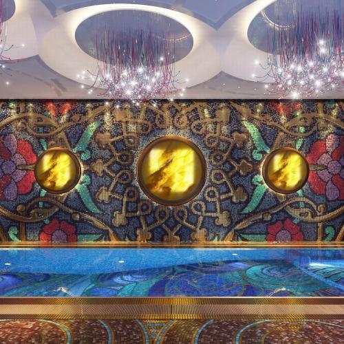 Розкішний басейн з Оніксом та мозайкою POLL_204