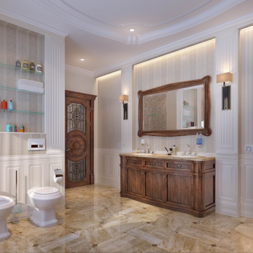 Ванна кімната в дубі  WK_114
