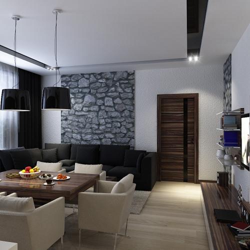 Гостиная в квартире GMD_212