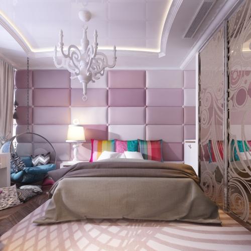 Нежная детская комната для девочки KRK_107