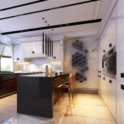 Ексклюзивнна кухня в квартирі MD_205