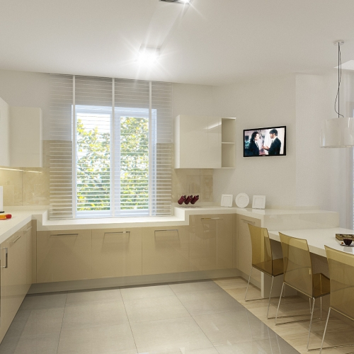 Світла кухня студія H_404