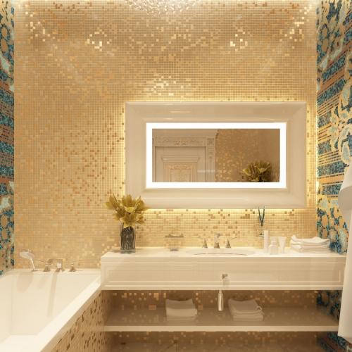 Удобная гостевая ванная комната WMD_216