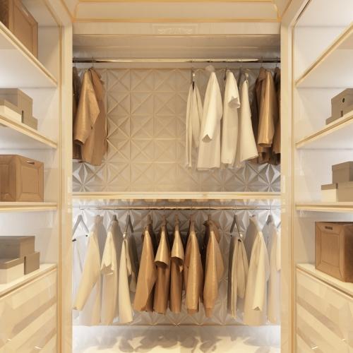 Кампактна уютная гардеробная DK_106