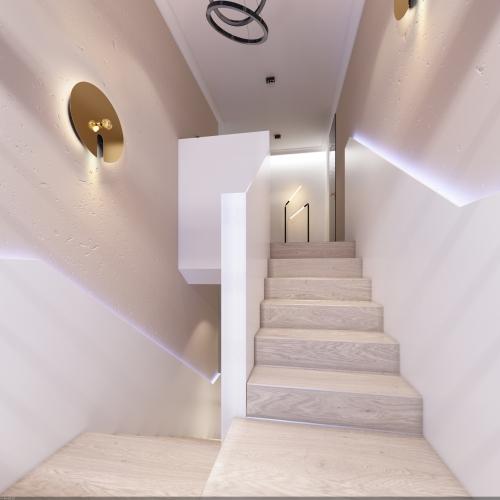 Сучасні сходи в стилі хайтек SH_306