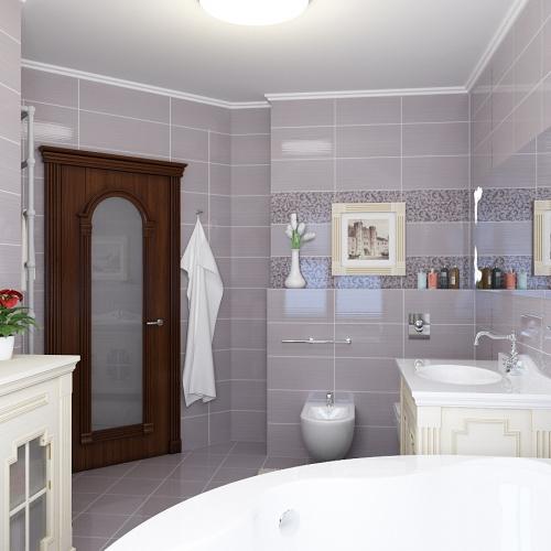 Ванная комната в классическом стиле WK_109