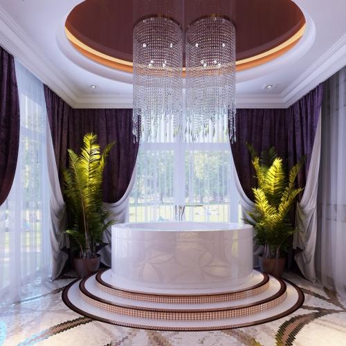 Роскошная ванная комната для вас WK_217