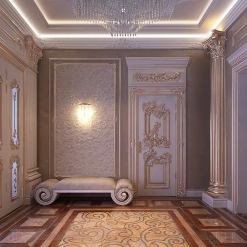 Двері класичні з патіною DK_118