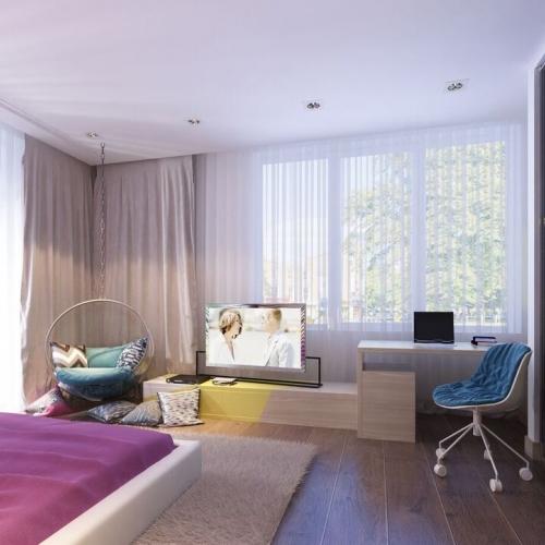 Кімната дівчинки KRH_405