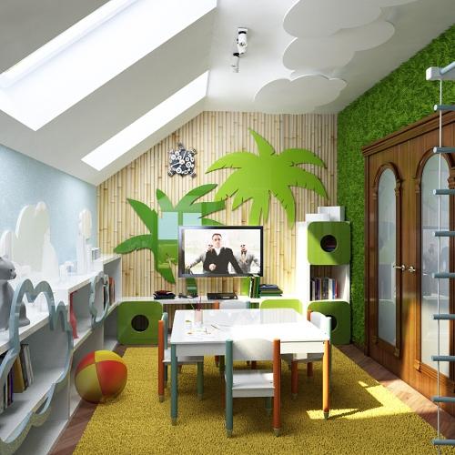 Ігрова дитяча кімната KRMD_203