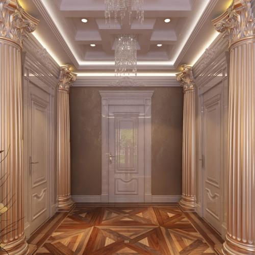 Двері класичні з фільонками DK_119