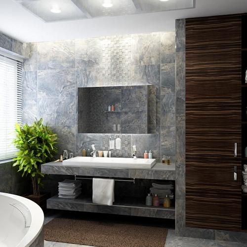 Ванна с мраморными плитами WMD_207