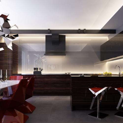 Кухня в шпоні Eben MD_204