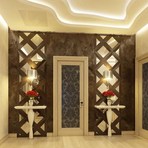 Двері класичні з вітражем DK_115