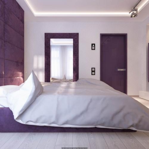 Спальня з м'якою перегородкою SM_304